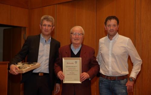 Hans Seiler 60 Jahre Schiedsrichter